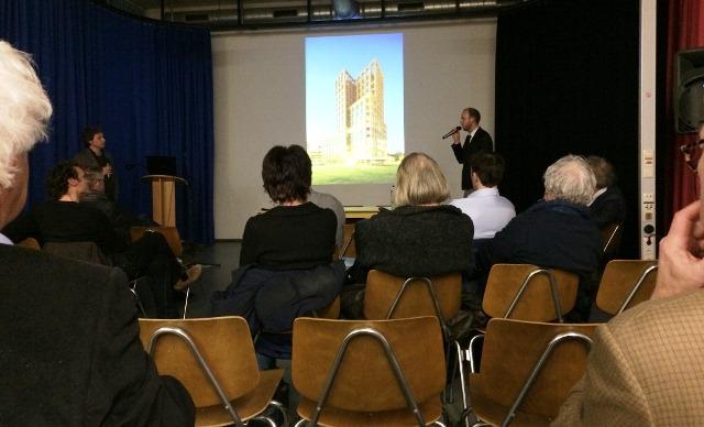 TOPOS lezing in de aula van de Jan van Eyck Academie