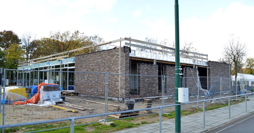 Foto van de bouw van het project SEN